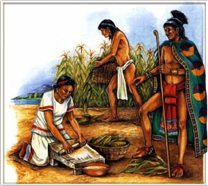 Aztec People Farming