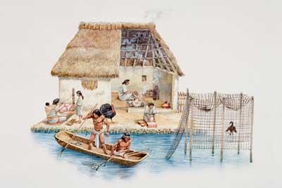 Aztecs were great farmers an aztec home